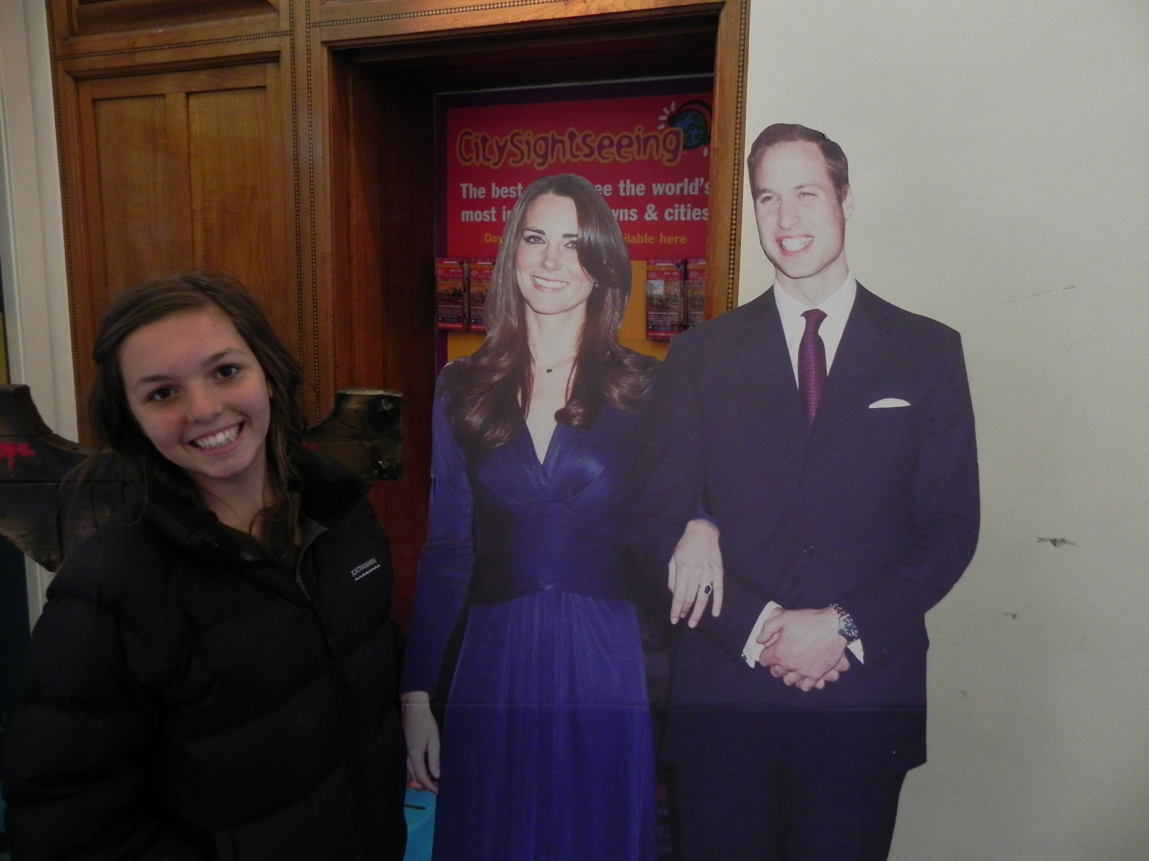 We may even run into Will and Kate.