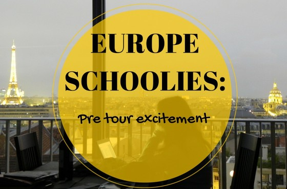 Europe Schoolies: Pre tour excitement