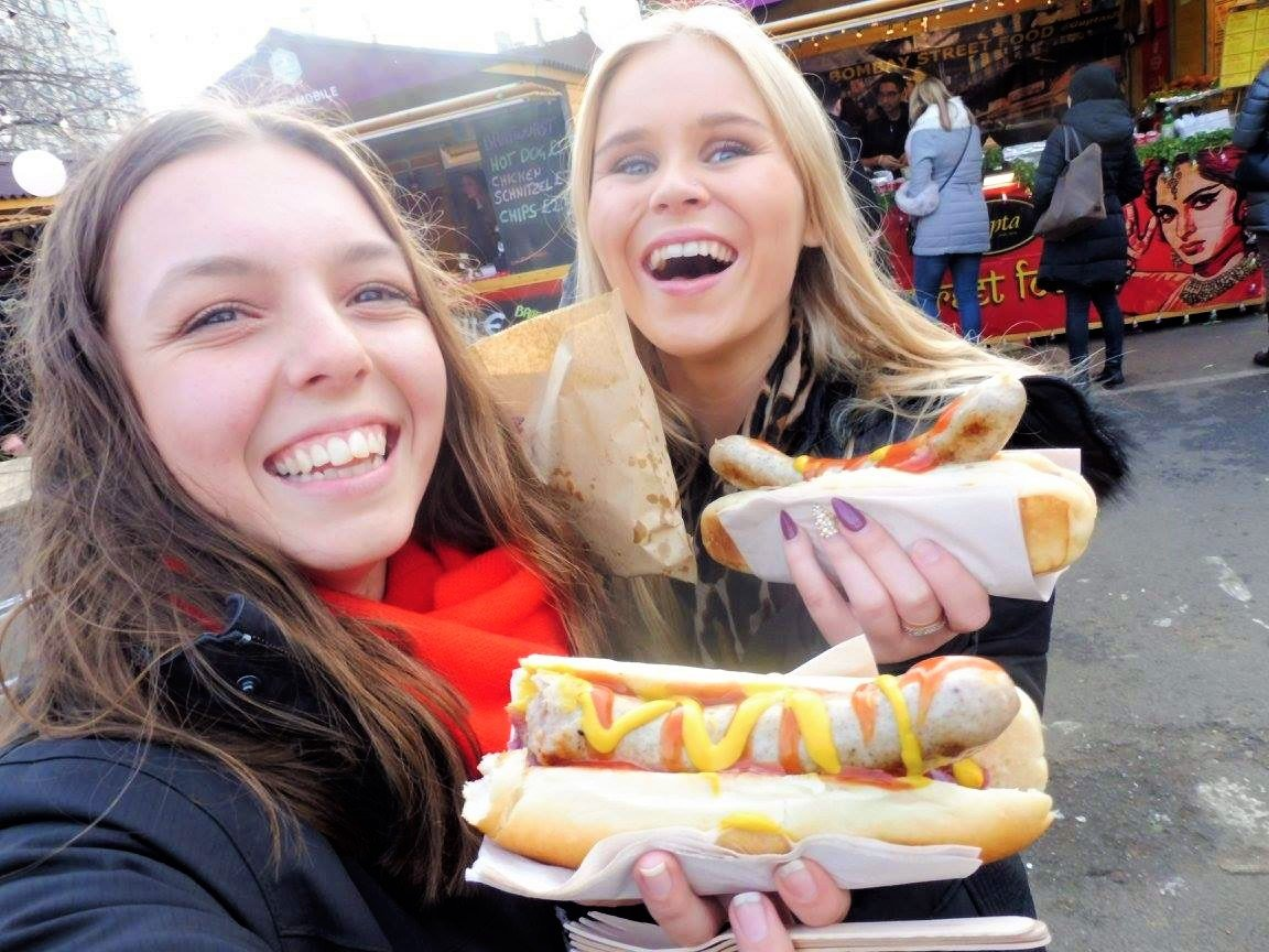 From eating hot dogs to becoming bestfriends