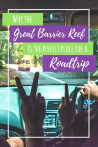 Pinterest graphic for Great Barrier Reef Drive