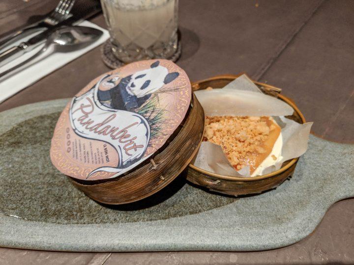 Pandanbert course 2 room4dessert menu Bali