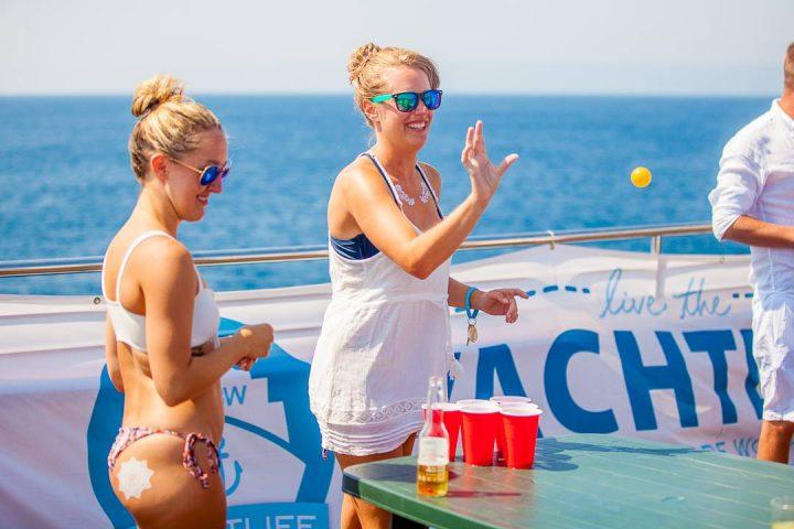 yachtlife Life Before Work Beer Pong