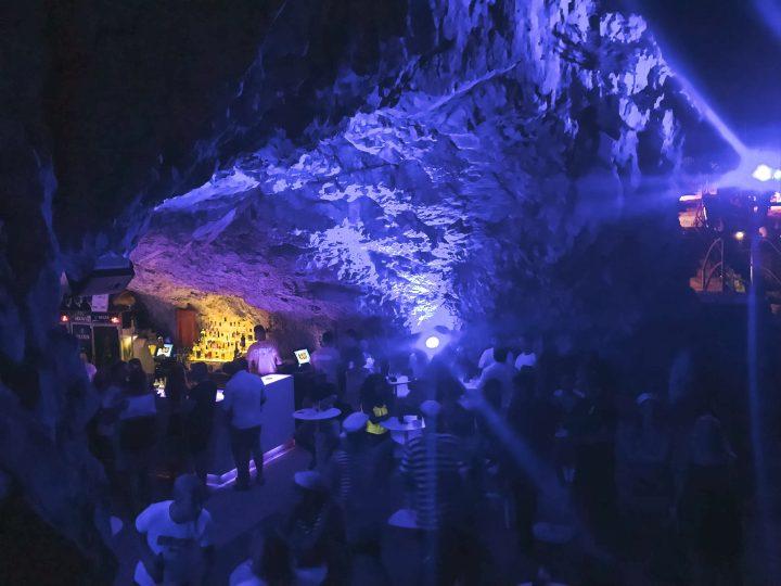 Cave Rave in Makarska Croatia with life Before Work Yachtlife