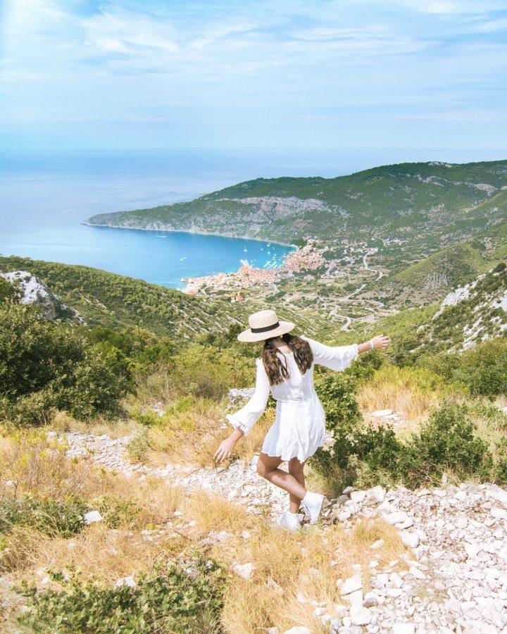 Vis Croatia best view in Vis with Yachtlife Croatia Life Before Work