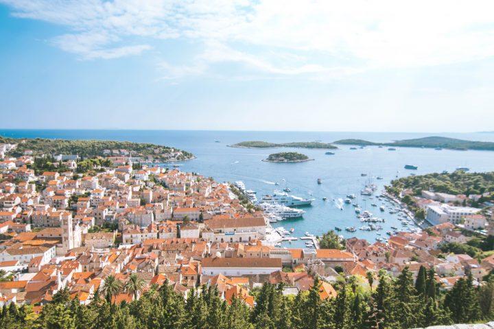 Hvar fortress view Life Before Work Yachtlife Croatia