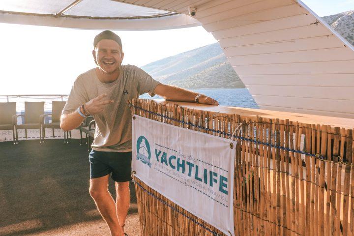 Matty Moore the LBW Yachtlife Croatia Tour Guide