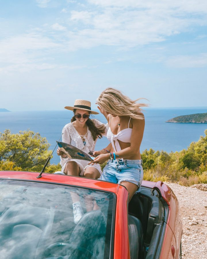 Hire a convertible in Vis with Life Before Work yachtlife Croatia