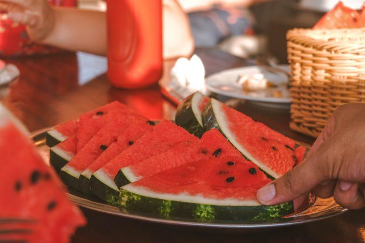 delicious watermelon on board yachtlife croatia