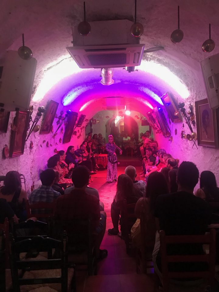 Iberian Adventure from Spain Granada Flamenco Show in cave