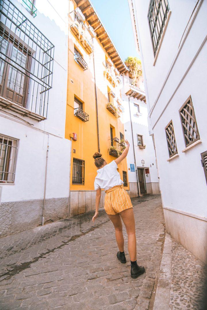 Iberian Adventure from Spain Granada Jewish Quarter