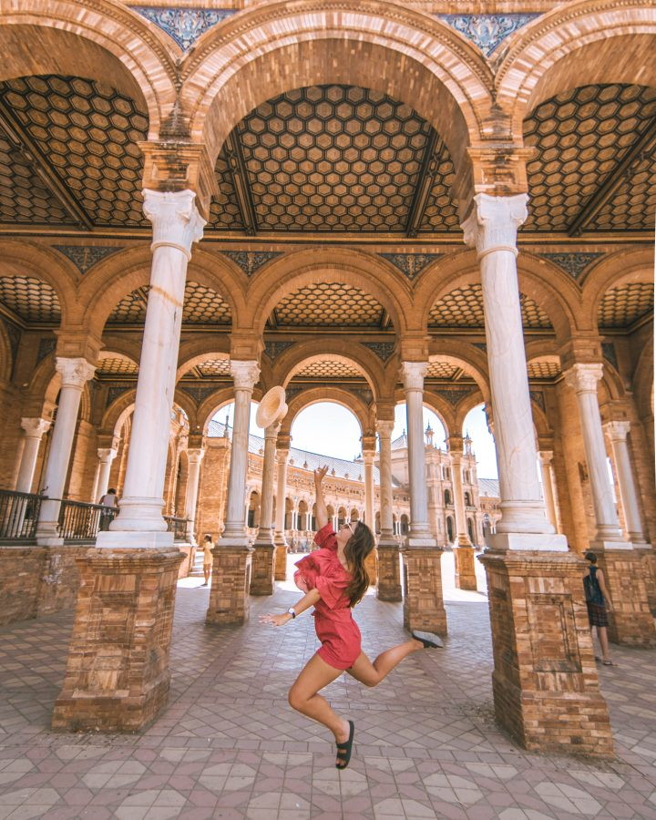 Busabout Iberian Adventure Tourradar Seville Seville Spain Plaza de Espana