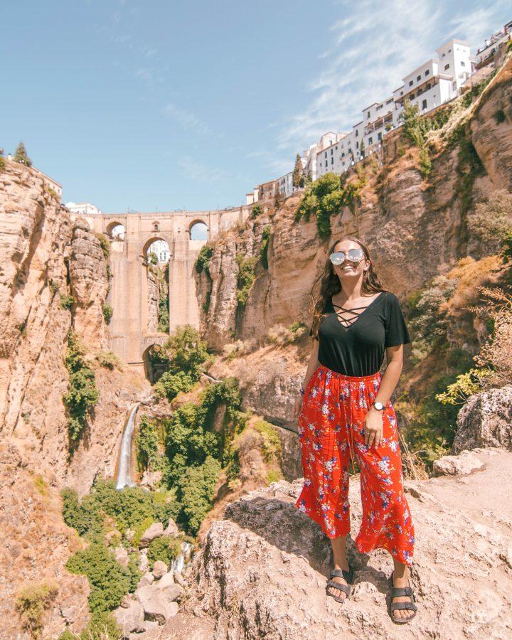 Iberian Adventure from Spain Ronda Waterfall hike