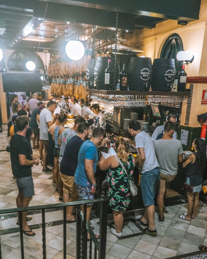Busabout Iberian Adventure Tourradar Seville Seville Spain Best Tapas in the World Local restaurant