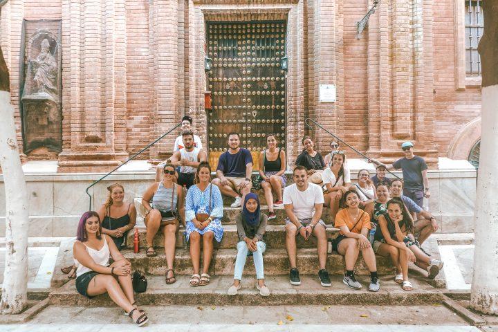 Busabout Iberian Adventure Tour Group in Seville Sevilla Spain