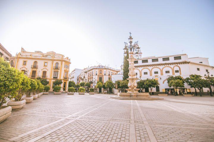Busabout Iberian Adventure Tourradar Seville Seville Spain Main Square