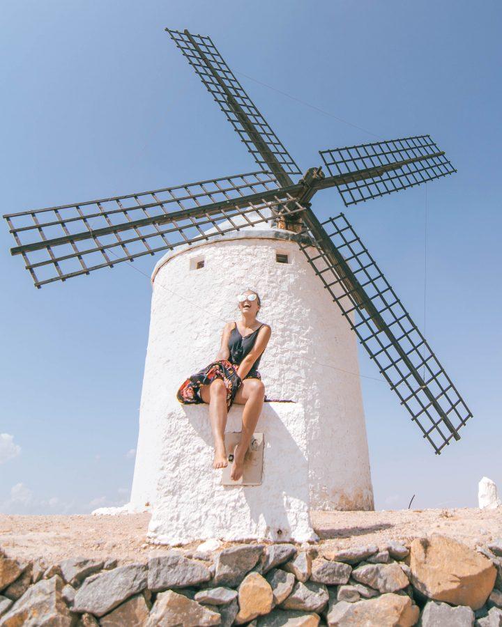 Iberian Adventure from Spain Consuegra windmils