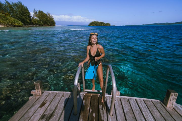Njari Island best diving in the world best beaches in the world Go Pro