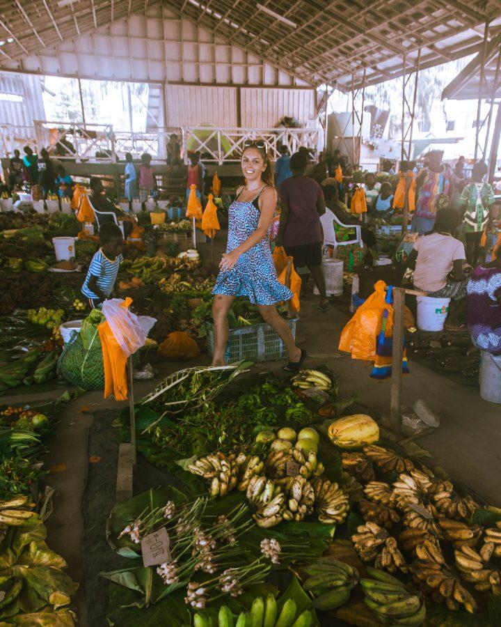 Gizo local markets Solomon Islands