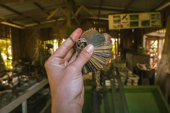 Peter Josef Museum Solomon islands Munda Island WWII