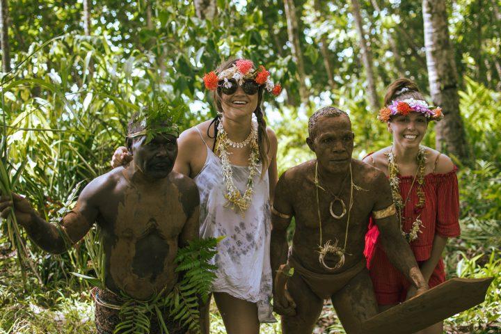 Tituro Eco Lodge Local village Solomon Islands Rendova Islands