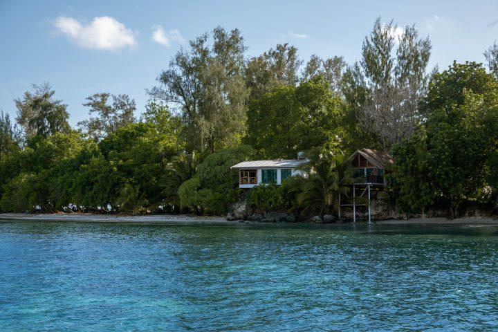 Fatboys Island resort Gizo Solomon Islands unique accommodation