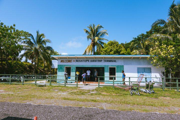 Gizo Airport Solomon Islands