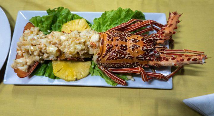 Solomon Islands fresh seafood lobster