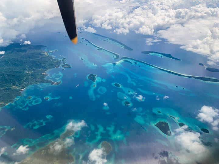 Munda to Honiara Solomon Airlines Solomon Islands