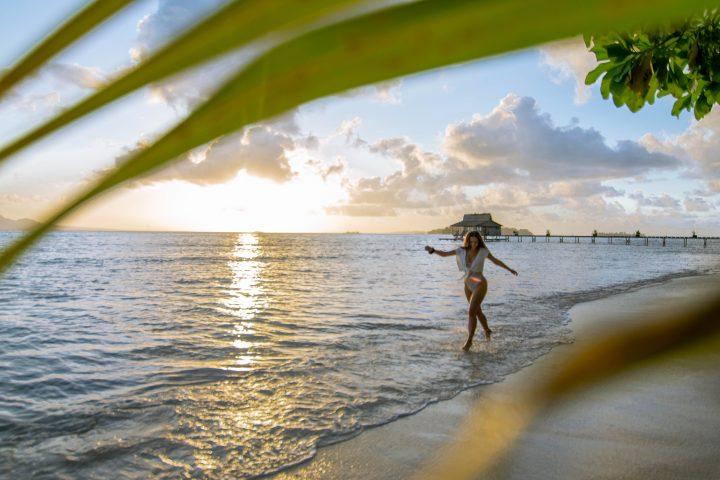 Fatboys Island resort sunrise Solomon Islands