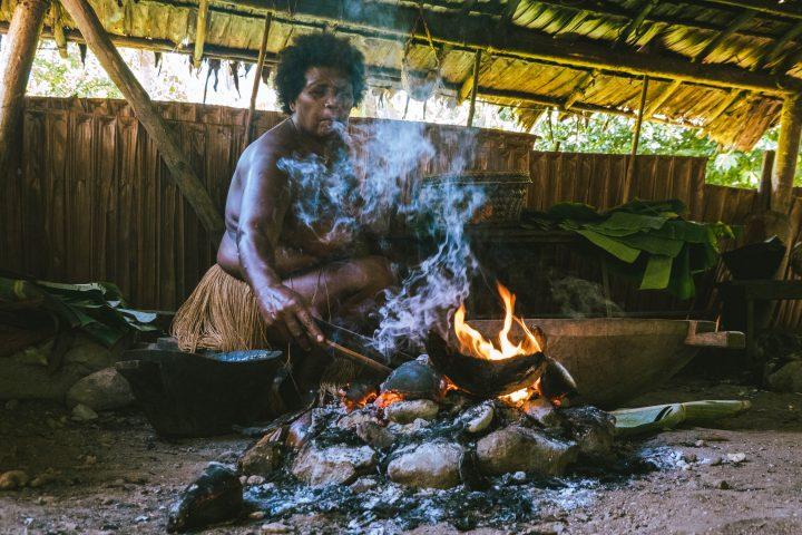 Solomon Islands honiara local village visit cooking class with locals in Solomon Islands