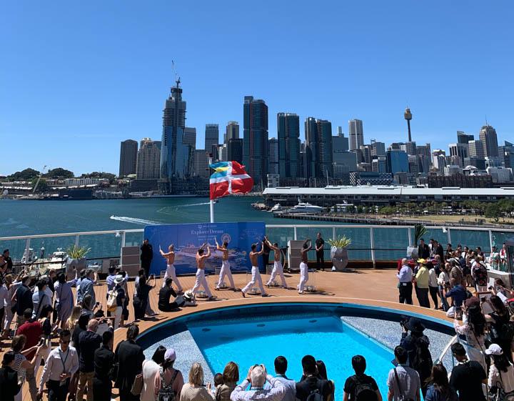 White Bay Cruise Terminal Dream Cruises Explorer Dream