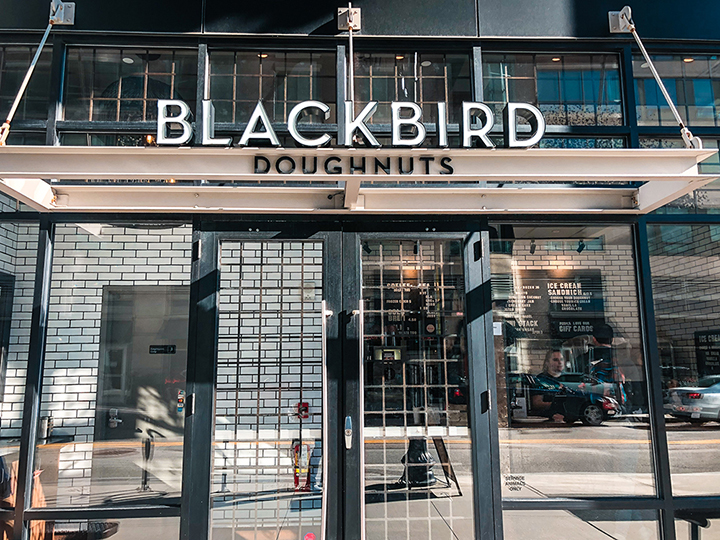 Blackbird Doughnuts Boston USA