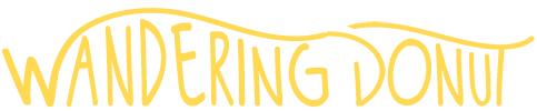 Wandering Donut Logo